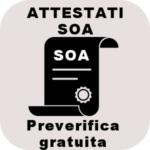 Attestati SOA